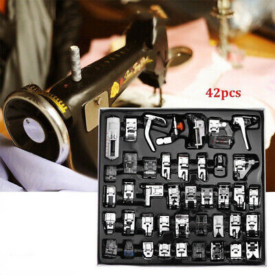 32X/42X Sewing Machine Foot Feet Presser Snap Set Kit For Singer Brother
