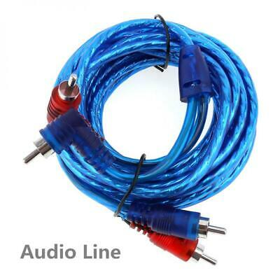 1 Set Car Amp Audio Amplifier Cable Speaker Subwoofer Audio Wiring Kit w/ Fuse