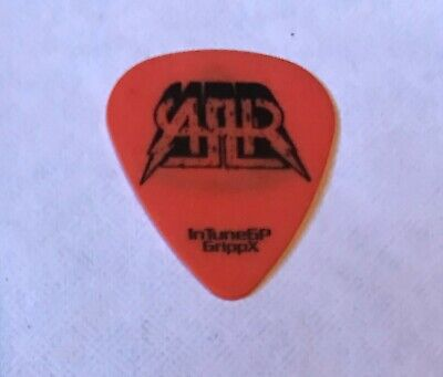 All American Rejects - 2009 Tour Tree Logo Guitar Pick Orange & Black