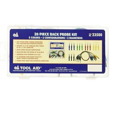 S&G Tool Aid 20 PIECE BACK PROBE KIT 23500