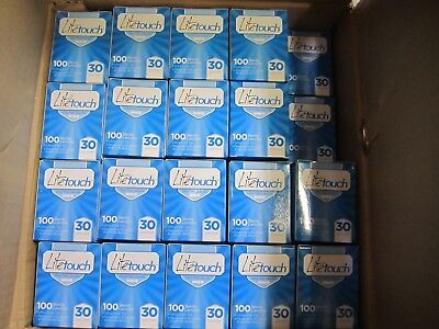 100  Boxes of 100 LiteTouch Ultra Thin Lancets 30 Gauge,  =10,000 LANCETS total