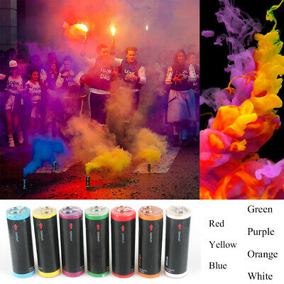 7 Color Smoke Round Bomb Effect Show Background Photography Video MV Aid Toys