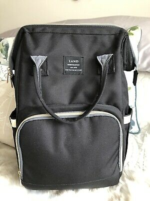 Multi-use Large Mummy Baby Diaper Nappy Backpack Mum Dad Changing Travel Bag