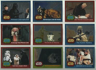 Star Wars - Chrome Archives - Complete 90 Trading Card Set - Topps 1999 - NM