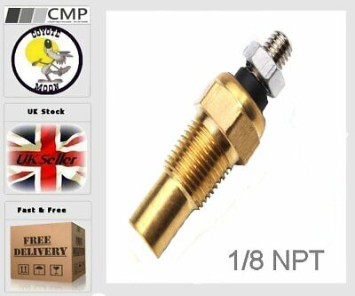 1/8 NPT Water Oil Temperature Temp Sensor Autometer UK Seller