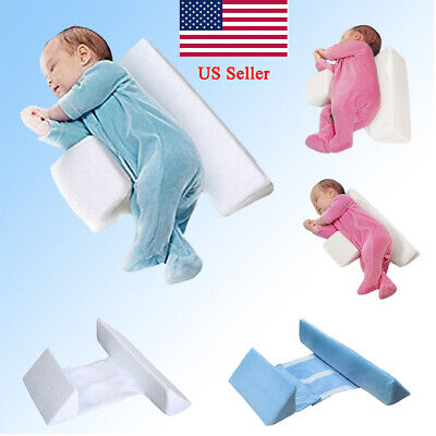 New Infant Sleep Pillow Support Wedge Adjustable Width For Baby Newborn US WHITE