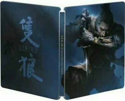 Sekiro: Shadows Die Twice Steelbook Only Ps4 Xbox One (No Game)