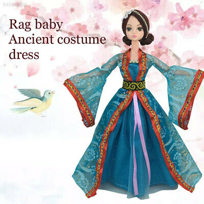 9BD2 Traditional Ancient Costume Decoration Traditional Doll Dress