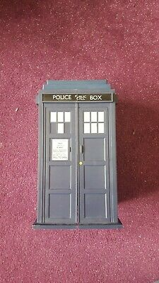 Doctor Who Tardis Storage Case Box inc cards COLLECTORS DR trading rare