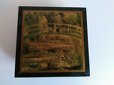 H&G Studios Music Box, Erclano, Sorrento, Picture bt Claude Monet. Style MBO809