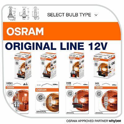 Osram Original Line 12v Standard Replacement Automotive Bulbs Select Type