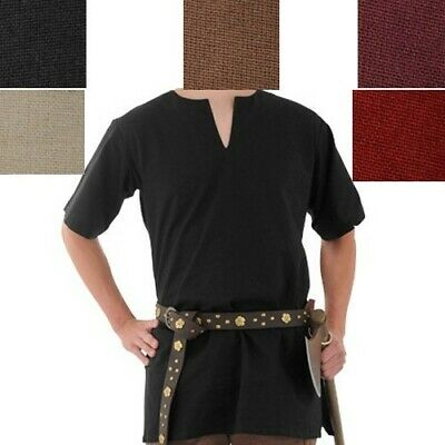 Medieval Cotton Tunic in 5 different colours Ideal Stage,Costume & LARP