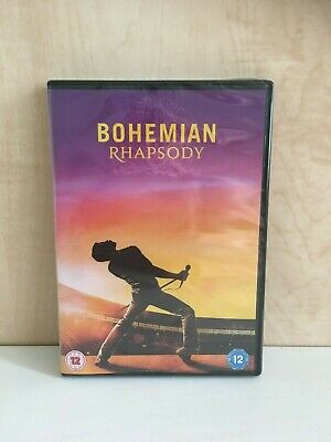 Bohemian Rhapsody Dvd - Brand New And Sealed 2019