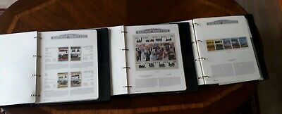 Westminister Railway Heritage Stamp Collection 3 Albums