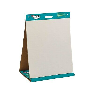 "Staples Stickies Tabletop Easel Pad 20"" x 23"" White 20 Sheets/Pad (23448) 958102"