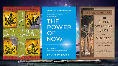 Spiritual Pack Of Power 3 Books on Mind, Body, Spirit: thought & practice