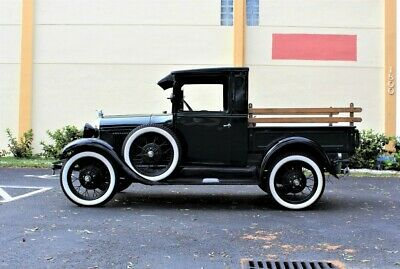 1928 Model A Pick Up 1928 Ford Model A Pick Up 2,702 Miles Green Pick Up 201 CID 40 HP 4 Cylinder 3 S