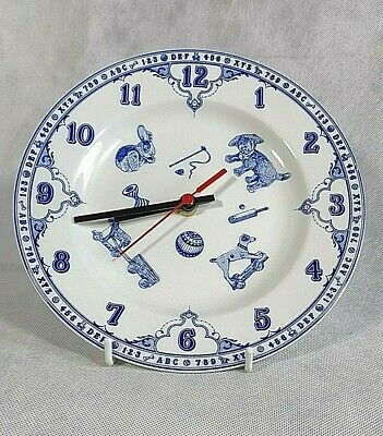SPODE - Edwardian Childhood - Hickory, Dickory, Dock - Electric Clock Plate