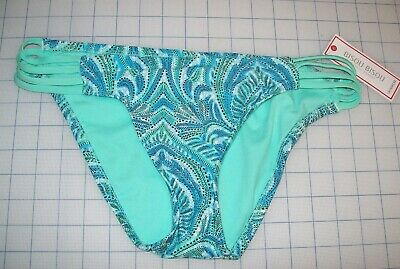 265fe61dbd Womens Bisou Bisou Swim Bottoms With Slotted Sides Mojito New With Tags  Msrp$44