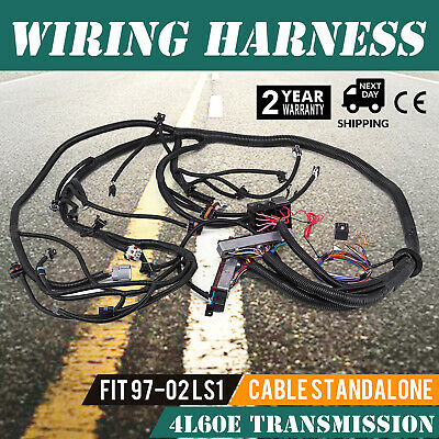 Incredible For 99 03 Vortec 4 8 5 3 6 0 Standalone Wiring Harness W 4L60E Wiring 101 Capemaxxcnl