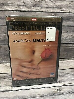 American Beauty (DVD, 2000,  Awards Edition Widescreen) 1999 Film NEW Sealed