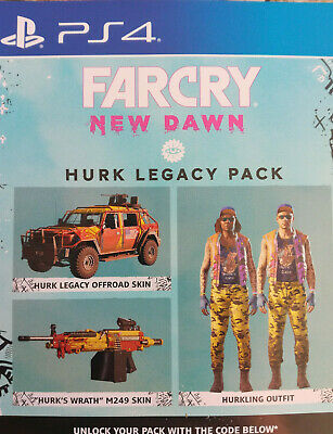 Far Cry New Dawn Hurk Legacy Pack Deutsche Version PS4 Playstation 4 DLC Code