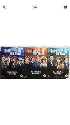Between The Lines Complete BBC Series 1-3 DVD UNSEALED MINOR BOX WEAR