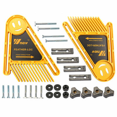 1 Pair Multi-purpose Double Feather board Loc Boards Table Saws DIY tools Set