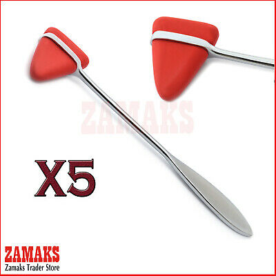 5X Taylor Reflex Hammer Medical Diagnostic Neurological Surgical Instruments New