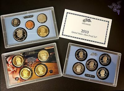 2010 S United States Mint Coin Proof Set