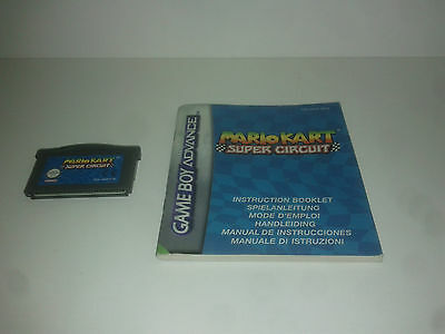 MARIO KART SUPER CIRCUIT + NOTICE - Game Boy Advance EUR (FR)