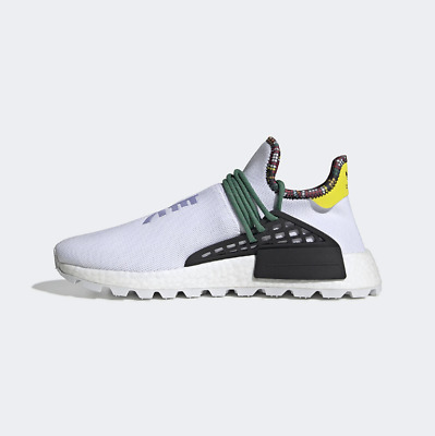 052d4cccf Adidas Pharrell x NMD Human Race Inspiration White Green EE7583 Size 5-12