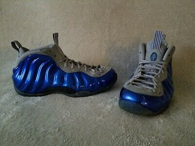 quality design eaa43 d03cd Nike Air Foamposite One Sport Royal Blue Wolf Grey 2013 Men s Size 12 Penny