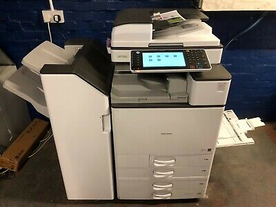 Ricoh Mp C3003 Full Colour All-In-One Photocopier With Finisher And Fax