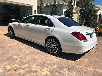 2015 Mercedes-Benz S-Class MSRP $126K S550 S 550 AMG LOOK! $126,000 MSRP (LATE IN-SERVICE) ORIGINAL OWNER 4MATIC GRAY WOOD AMG SPORT