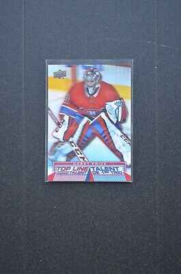 2018-19 Upper Deck Tim Hortons Carey Price Top Line Talent Card No. TLT-4