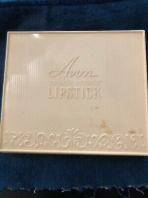 1960'S Avon Jewel Etched Lipstick Sample Case With 30 Samples