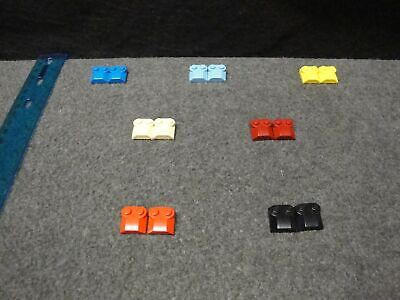 """/""""CHOOSE YOUR COLOR/"""" 30621 LEGO PART MODIFIED BRICK 2x12 WITH 2 SIDE /& END PINS"""