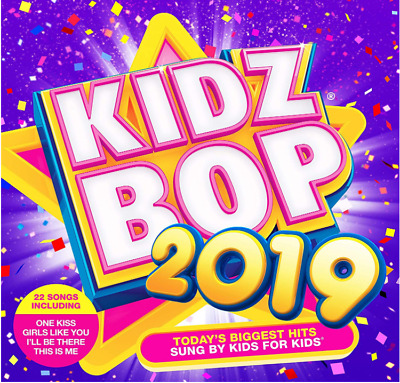 Kidz Bop 2019 (Album) CD 22 Songs Biggest Hits Fun Game Show Gift for Kid,Child