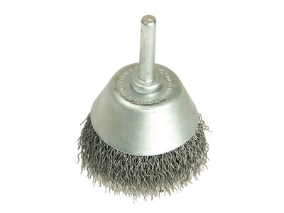 Lessmann LES437162 Cup Brush with Shank D70mm x 25h x 0.30 Steel Wire