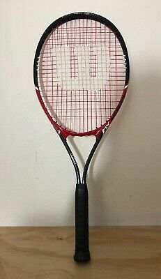 Wilson V-matrix Fusion XL Tactical Alloy Oversize Tennis Racket - 4 3/8