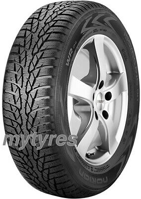 2x WINTER TYRES Nokian WR D4 225/45 R17 91H M+S with MFS