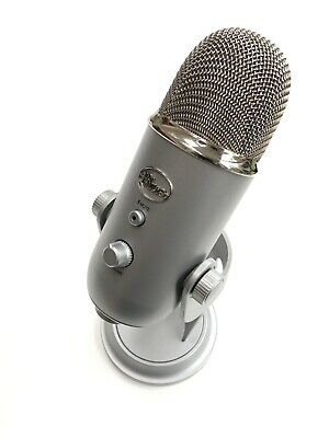 Blue Yeti Microphone USB Mic Boxed In Great Condition (missing Mini USB Cable)