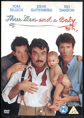 TRE SCAPOLI E UN BEBE' (three men and a baby) - DVD NUOVO E SIGILLATO, IMPORT