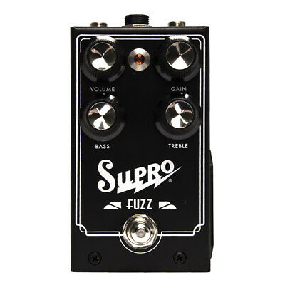 "Supro ""Fuzz"" 1304 Germanium Fuzz Pedal - New Blowout Special!"