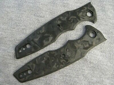 ZERO TOLERANCE ZT 0393 Custom Knife Scales Marble Carbon Fiber