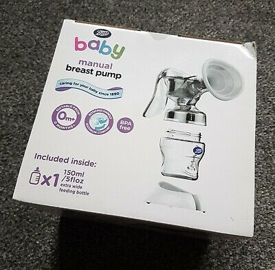 Boots baby manual breast pump NEW & SEALED!!