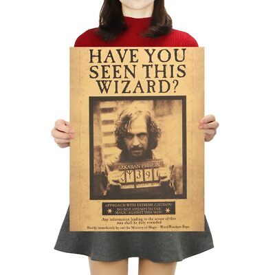Harry Potter Godfather Sirius Orion Black Retro Kraft Poster Classic Movie