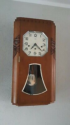 0128 - Antique French Odo 36 Westminster wall clock