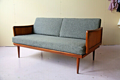 Danish sofa day bed 1960s Peter Hvidt France & Søn Son mid century modern